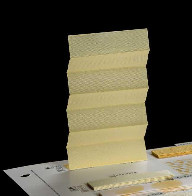 Штора плиссе Bloecker Cosiflor 10422, PG0, R39 A10 T51