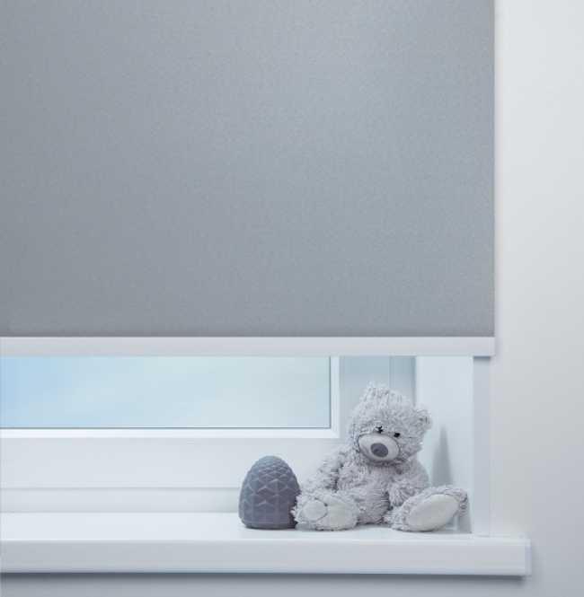 Рулонная штора Mini. Кейптаун ФР Серый