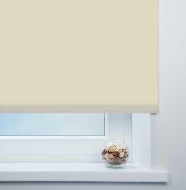 Рулонная штора Mini. Кейптаун ФР Темно-бежевый