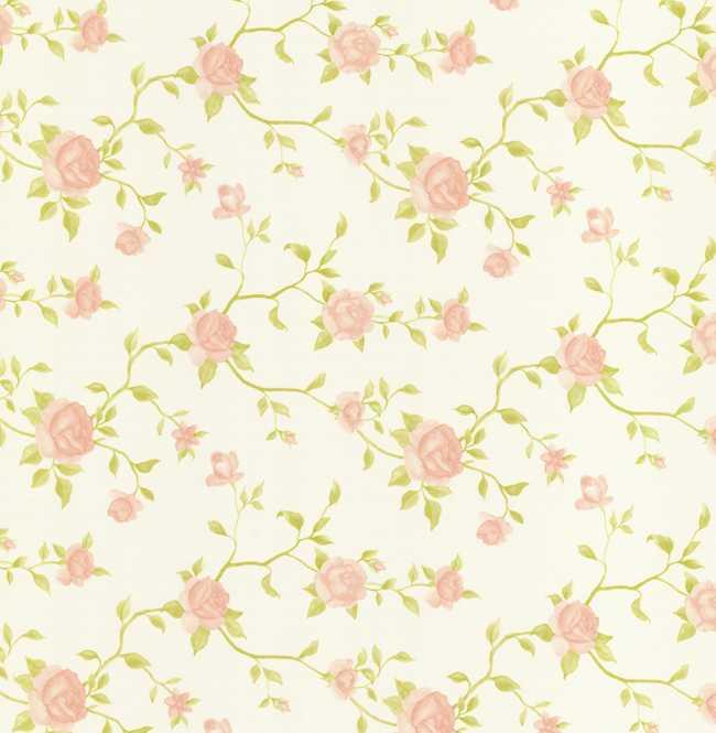 Рулонная штора Mini. Крымская роза Розовый