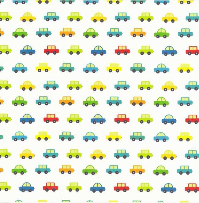 Рулонная штора Mini. Машинки