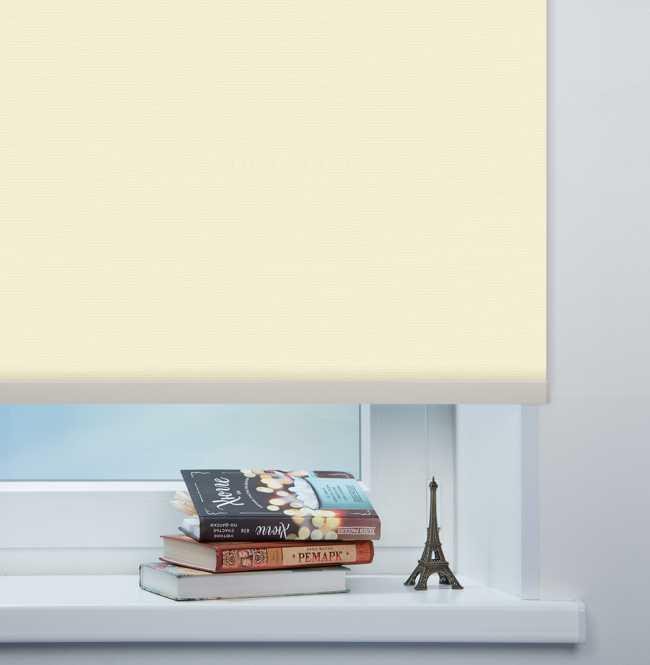 Рулонная штора Mini. Монако Бежевый