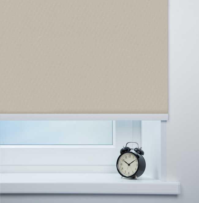 Рулонная штора Mini. Монако Серо-бежевый