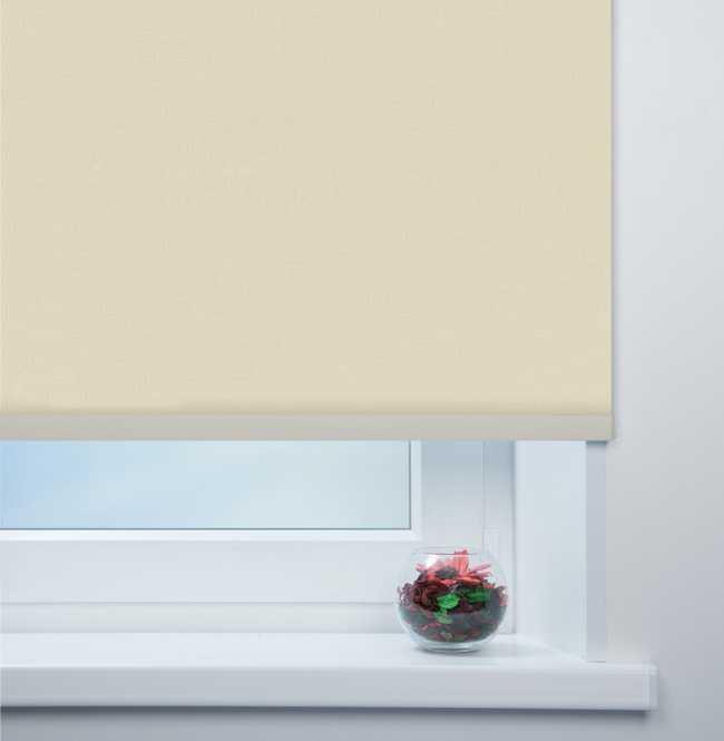 Рулонная штора Mini. Монако Темно-бежевый