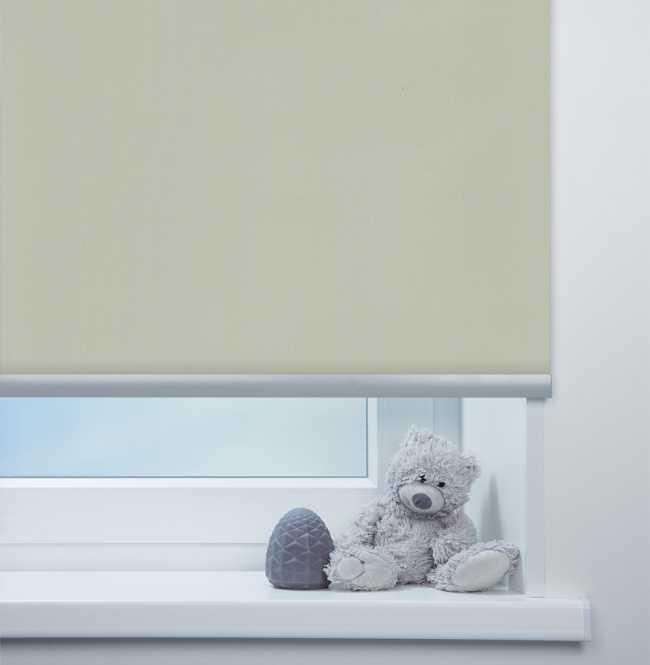 Рулонная штора Mini. Респект ФР Серый