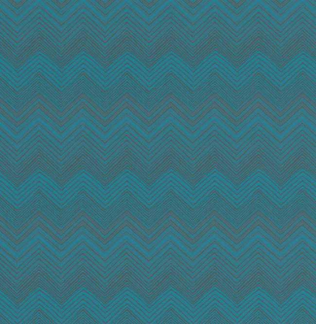 Рулонная штора Mini. Шерни Бирюзовый