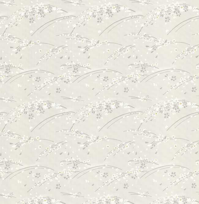 Рулонная штора Mini. Сакура Серый