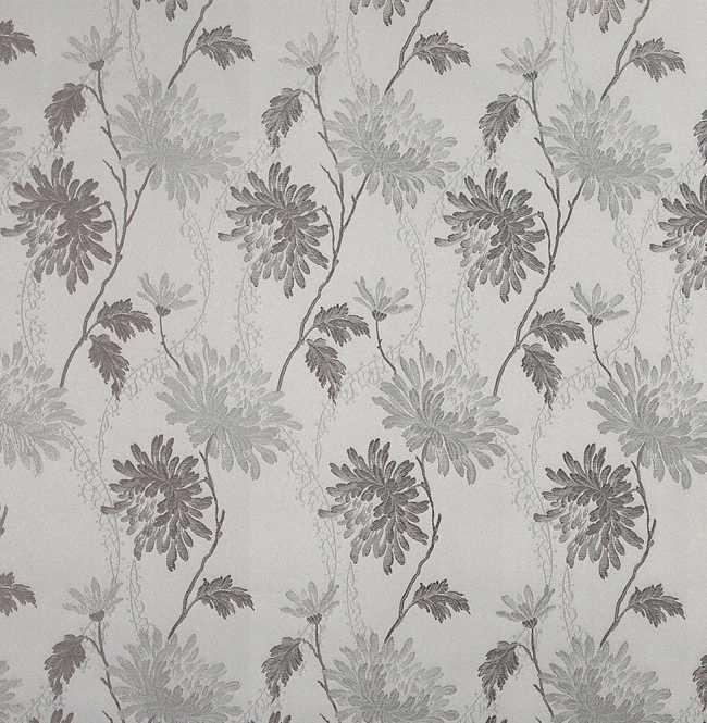 Рулонная штора Mini. Сиена Бело-серый