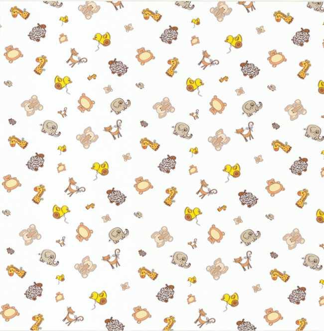Рулонная штора Mini. Зоопарк блэкаут