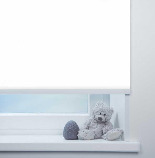 Рулонная штора Mini. Аллегро перл Белый