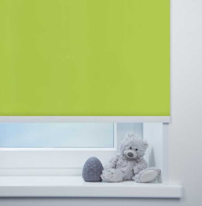 Рулонная штора Mini. Аллегро перл Зеленый