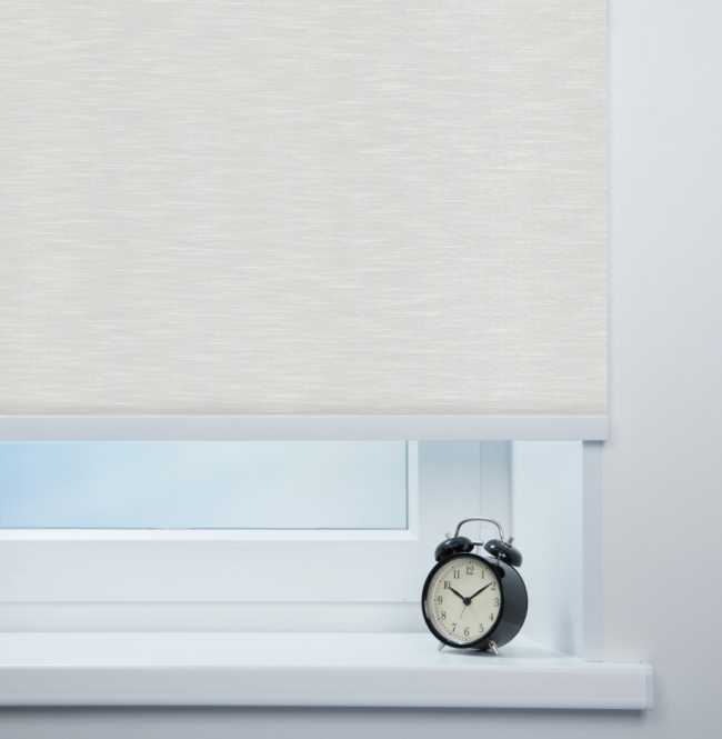 Рулонная штора Mini. Балтик Белый