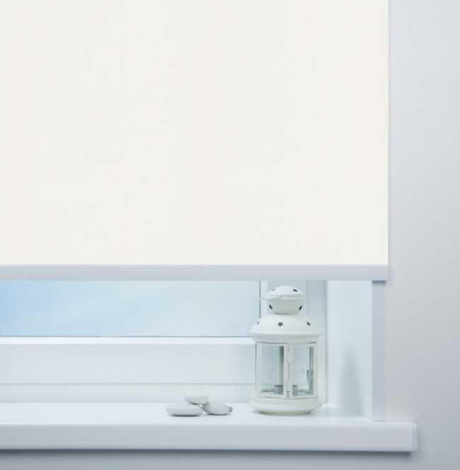 Рулонная штора Mini. Карина Белый