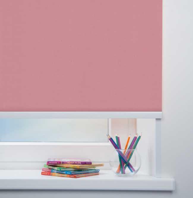 Рулонная штора Mini. Карина Розовый