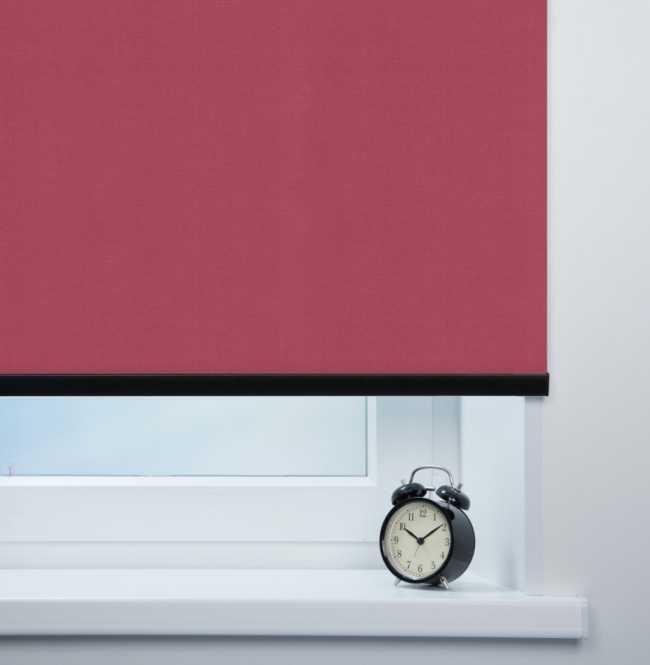 Рулонная штора Mini. Карина Темно-розовый