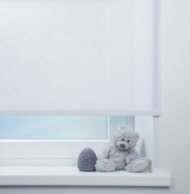 Рулонная штора Mini. Куба Сиреневый