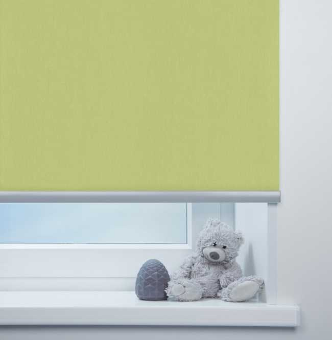 Рулонная штора Mini. Лусто Салатовый