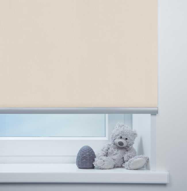 Рулонная штора Mini. Лусто Светло-бежевый
