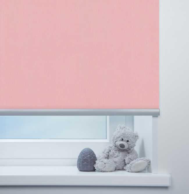 Рулонная штора Mini. Лусто Светло-розовый