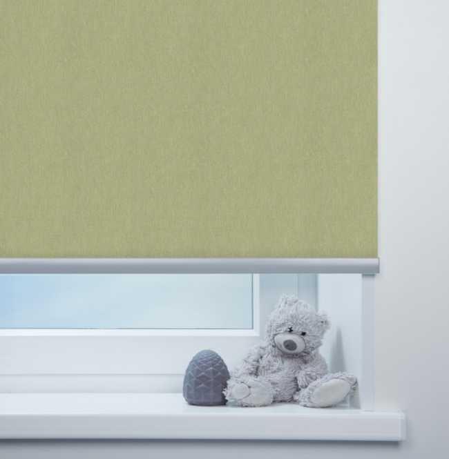 Рулонная штора Mini. Лусто Светло-зеленый