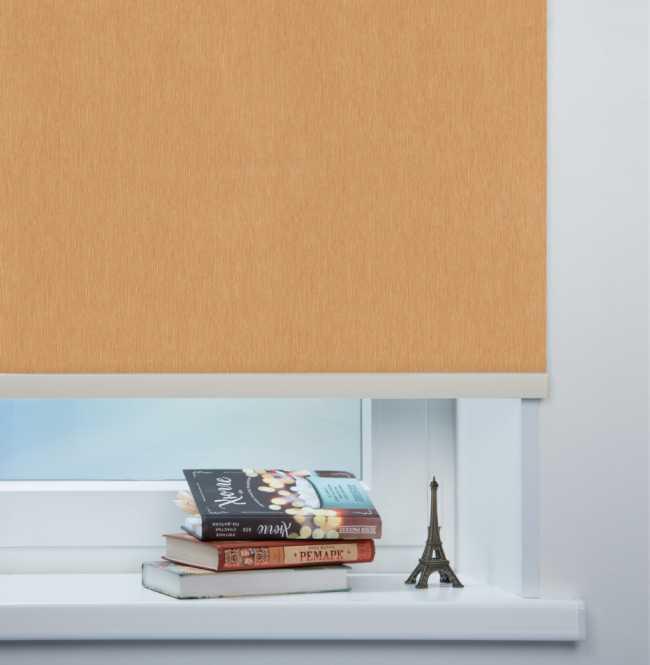Рулонная штора Mini. Лусто Желтый