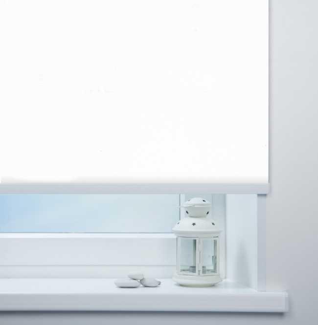 Рулонная штора Mini. Мадагаскар Белый