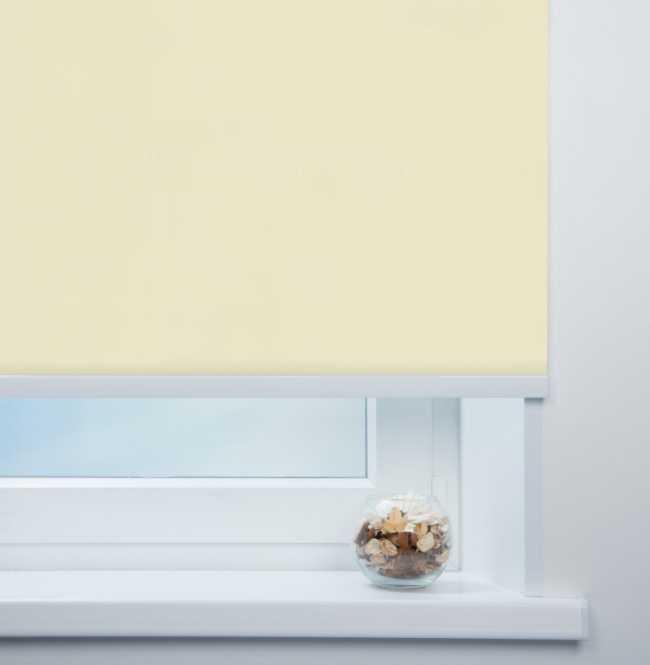 Рулонная штора Mini. Мадагаскар Бежевый