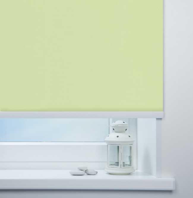 Рулонная штора Mini. Мадагаскар Зеленый