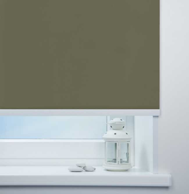 Рулонная штора Mini. Мадагаскар Темно-серый
