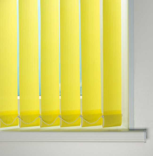 Вертикальные жалюзи Лайн Лимонный