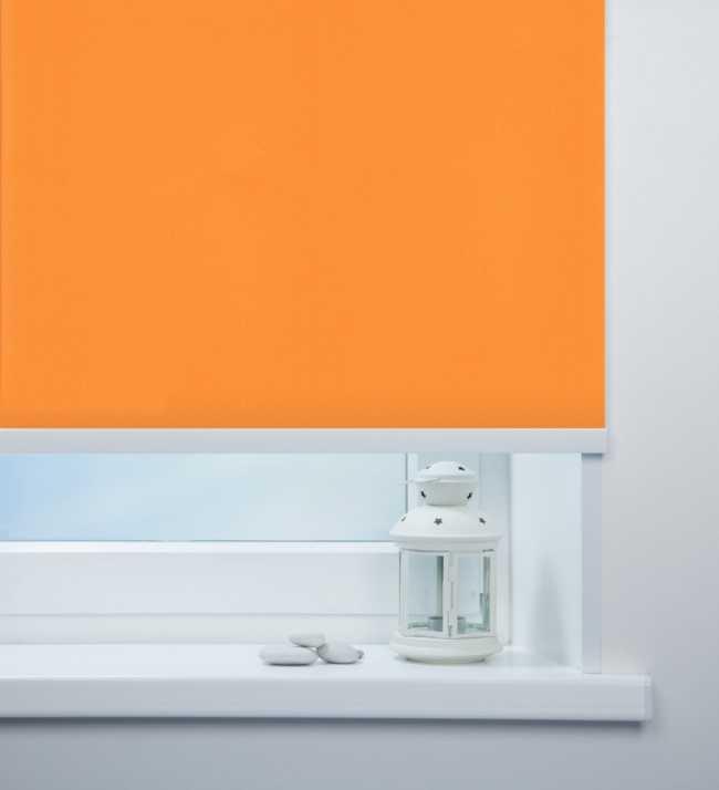 Рулонная штора Мадагаскар Оранжевый