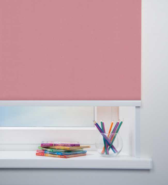 Рулонная штора Карина Розовый