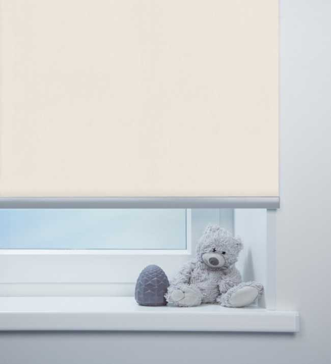 Рулонная штора Лусто Белый