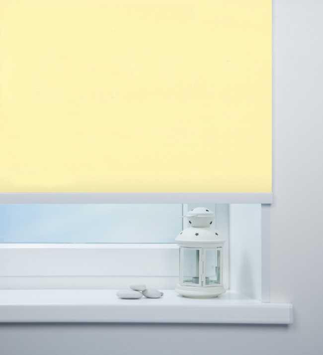 Рулонная штора Мадагаскар Светло-желтый