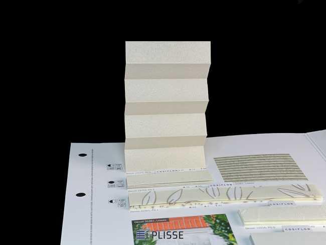 Штора плиссе Bloecker Cosiflor Basic NEW 10123, PG0, R42 A12 T46