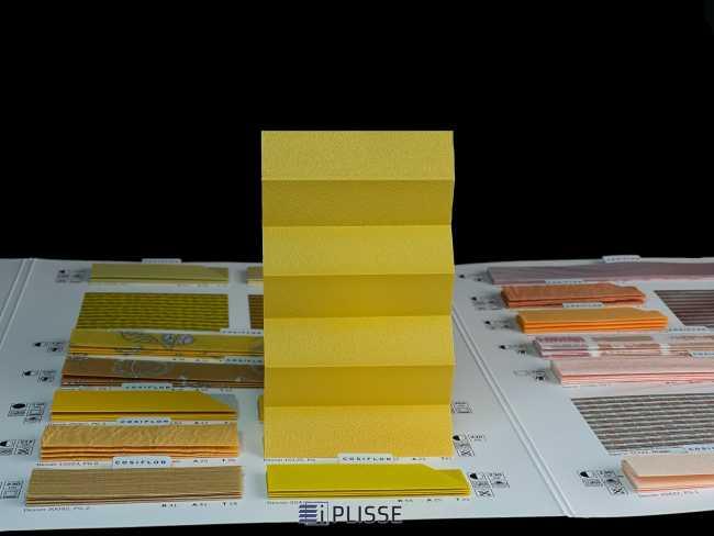 Штора плиссе Bloecker Cosiflor Basic NEW 10125, PG0, R37 A22 T41