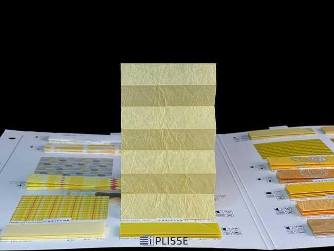 Штора плиссе Bloecker Cosiflor Basic NEW 10222, PG0, R43 A17 T40