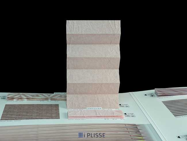Штора плиссе Bloecker Cosiflor Basic NEW 10224, PG0, R36 A29 T35