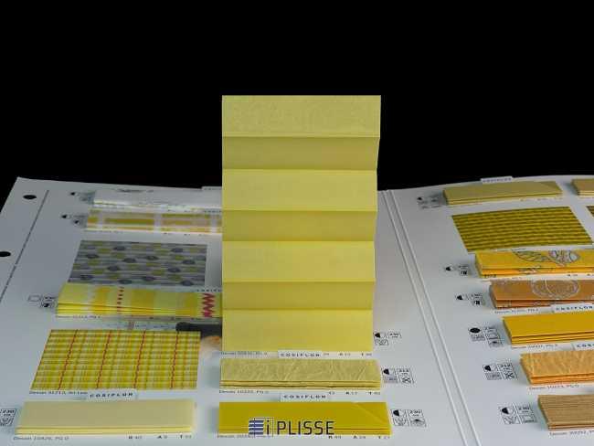 Штора плиссе Bloecker Cosiflor NEW 10431, PG0, R39 A13 T48