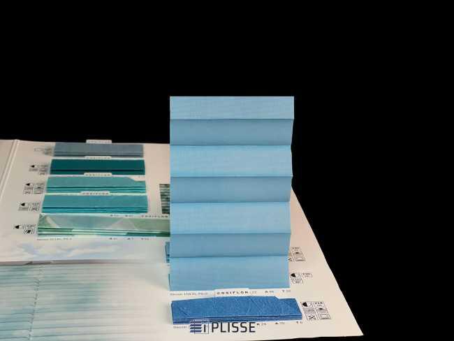 Штора плиссе Bloecker Cosiflor Basic NEW 10435, PG0, R22 A46 T32