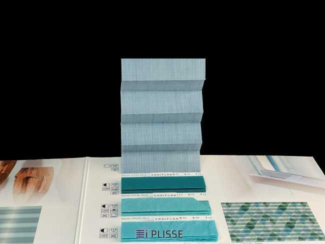 Штора плиссе Bloecker Cosiflor Basic NEW 10724, PG2, R20 A56 T24