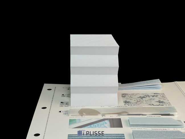 Штора плиссе Bloecker Cosiflor Basic NEW 20111, PG2, R82 A8 T10
