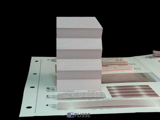 Штора плиссе Bloecker Cosiflor Basic NEW 20122, PG2, R72 A24 T4