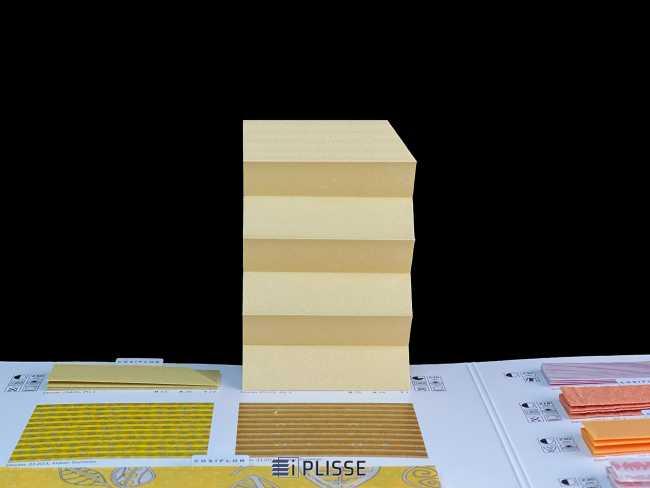 Штора плиссе Bloecker Cosiflor Basic NEW 20125, PG2, R75 A18 T7