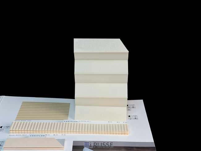 Штора плиссе Bloecker Cosiflor Basic NEW 20234, PG1, R55 A9 T36