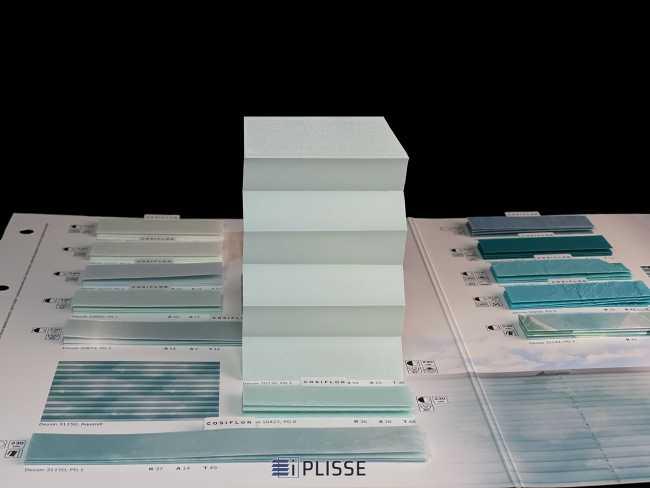 Штора плиссе Bloecker Cosiflor Basic NEW 20235, PG1, R54 A10 T36