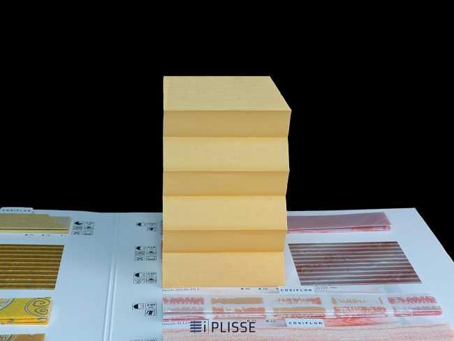 Штора плиссе Bloecker Cosiflor NEW 20239, PG1, R46 A28 T26