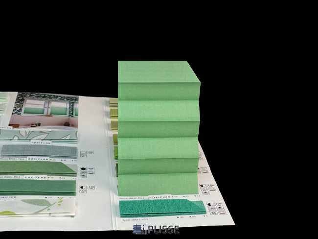 Штора плиссе Bloecker Cosiflor Basic NEW 20242, PG1, R33 A55 T12