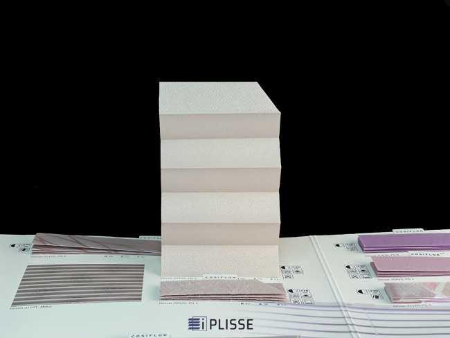 Штора плиссе Bloecker Cosiflor Basic NEW 20420, PG1, R56 A23 T21