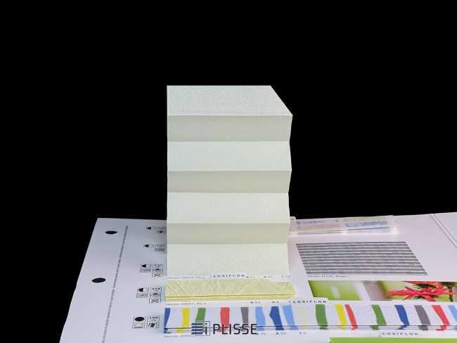 Штора плиссе Bloecker Cosiflor NEW 20423, PG1, R61 A10 T29
